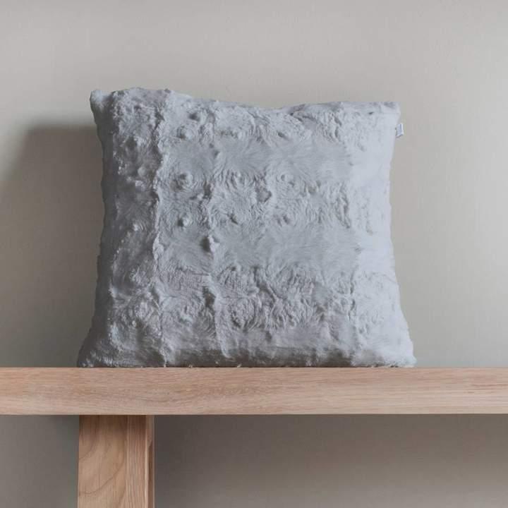 Grey Stellan Fur Cushion 43x43cm