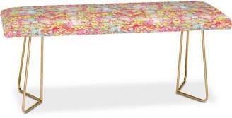 Deny Designs Joy Laforme Abstract Tropics Bench