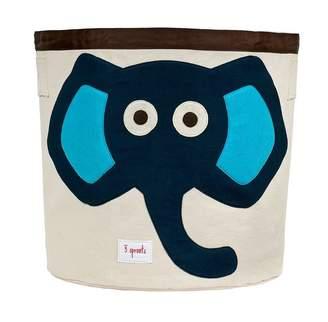 3 Sprouts Storage Bin Blue Elephant