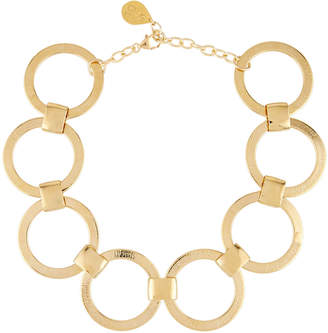 Devon Leigh Large Link-Chain Statement Choker Necklace