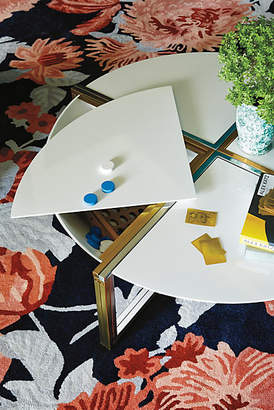 Tracey Boyd Lacquered Cache Coffee Table