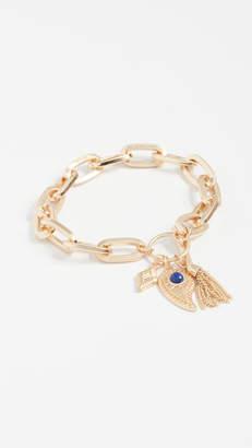 Rebecca Minkoff Perfect Chain Paisley Bracelet