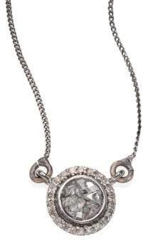 Shana Gulati Alex Raw Sliced Diamond Pendant Necklace