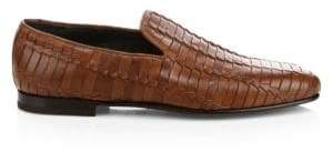 To Boot Lane Woven Leather Loafer