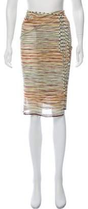 Missoni Striped Wrap Skirt