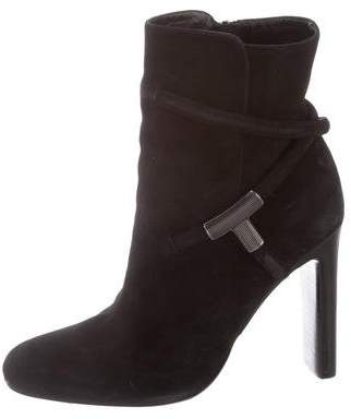Tom Ford Sue Suede Ankle Boots