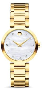 Movado Modern Classic Diamond Watch, 28mm