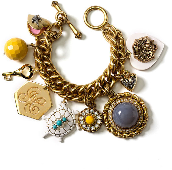 Juicy Couture 'Miss Juicy' Charm Bracelet