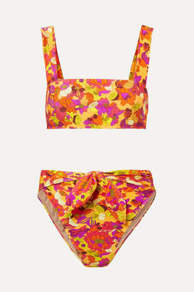 Adriana Degreas - Printed Bikini - Yellow