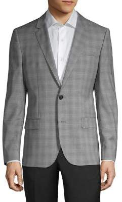 HUGO Henry Plaid Wool Sportcoat
