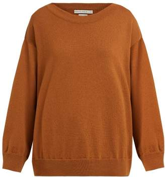 Queene and Belle Round Neck Cashmere Sweater - Womens - Light Brown