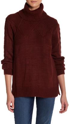 Joe Fresh Knit Mock Turtleneck Sweater $34 thestylecure.com
