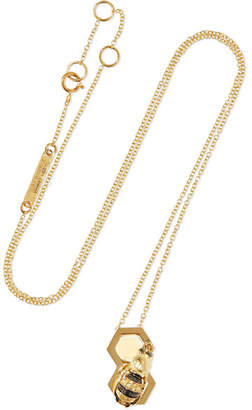 Delfina Delettrez 9-karat Gold Multi-stone Necklace