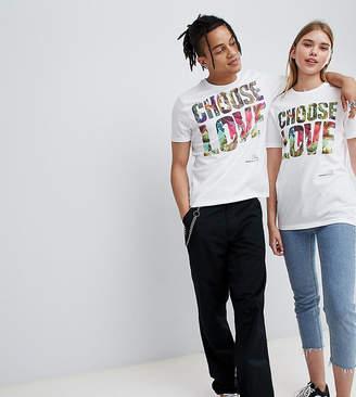 2588154b5 Help Refugees Choose Love x Wilderness Festival organic cotton t-shirt