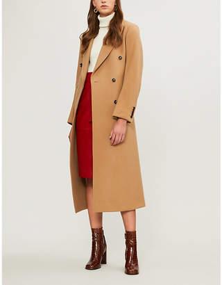 Joseph New Arlon wool and cashmere-blend coat