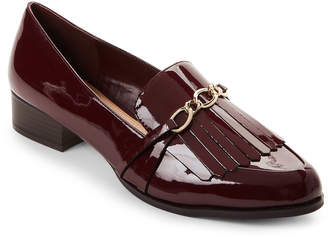 Tahari Wine Langley Pointed Toe Loafers
