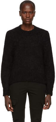 Isabel Marant Black Mohair Ivah Sweater
