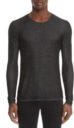 John Varvatos Double Knit Sweater