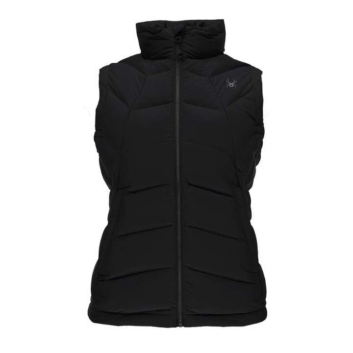 Women's Black Geared Gilet