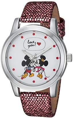 Disney Women's Mickey Mouse' Quartz Metal Casual Watch