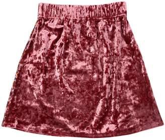 Matilda Velvet Mini Skirt