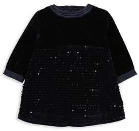 Billieblush Baby's& Toddler's Sequin Velvet Dress