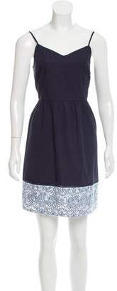 Tory Burch Eyelet-Trimmed Casual Dress