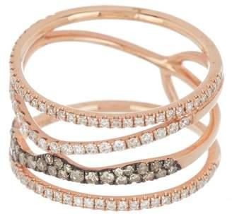 Meira T 14K Yellow Gold Brown Diamond Ring