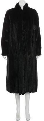 Fur Long Mink Coat
