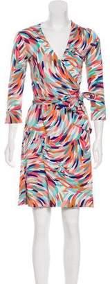 Diane von Furstenberg Silk Julian Wrap Dress