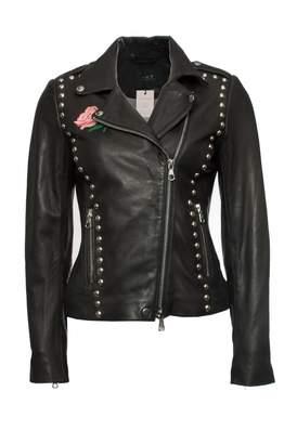 SET Black Leather Jackets