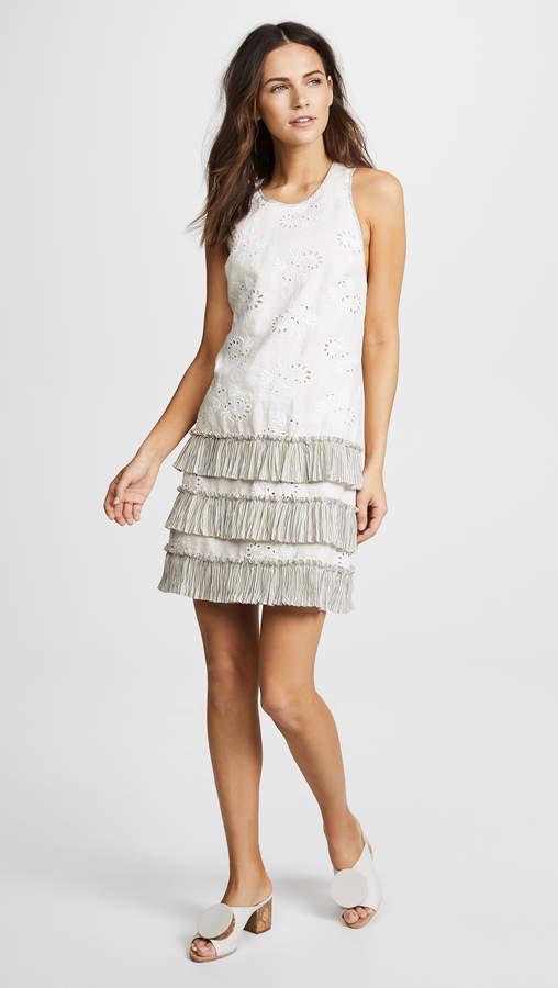 Garden Eyelet Sleeveless Dress