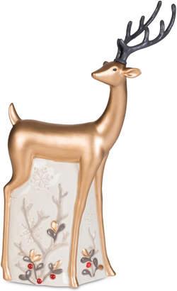 Fitz & Floyd Wintry Woods Deer Figurine