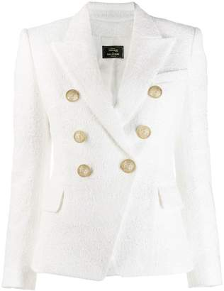 Balmain x Julian Fashion double-breasted tweed blazer