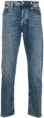 Diesel washed straight leg jeans
