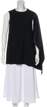 Rosetta Getty Panel-Accented Sleeveless Top