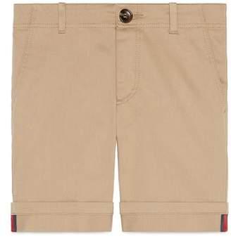 Gucci Stretch Cotton Shorts