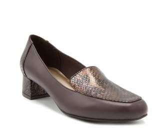 London Fog Fulton Women's High Heel Loafers