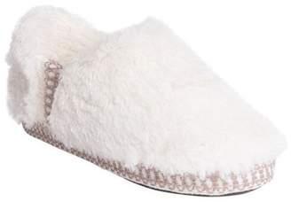 Muk Luks Women's Joana Fur Moccasin Slipper