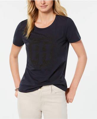 Tommy Hilfiger (トミー ヒルフィガー) - Tommy Hilfiger Logo Graphic T-Shirt
