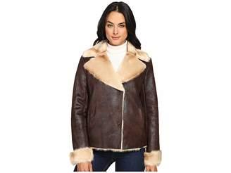 Vince Camuto Shearling L1591 Women's Coat