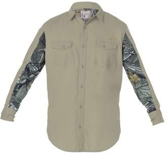 Big & Tall Earthletics Slim-Fit Camo Ripstop Button-Down Shirt