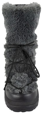 Muk Luks Women's Alaska Short Snow Boot - Grey