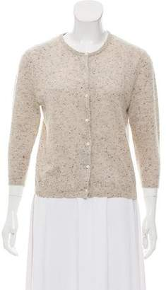 Autumn Cashmere Cashmere Semi-Sheer Cardigan