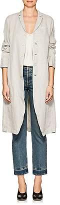 Pas De Calais Women's Linen Long Jacket
