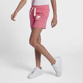 Nike Sportswear Vintage Older Kids'(Girls') Shorts