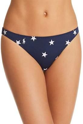 Ralph Lauren Flag Hipster Bikini Bottom