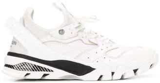 Calvin Klein low-top ridged sole sneakers