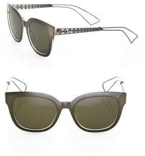 Christian Dior Diorama 1 52MM Square Sunglasses