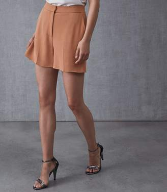 Reiss NURIA TAILORED SHORTS Rust